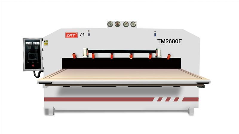 TM2680F双面木皮芯板正负压机